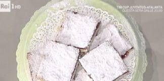 Ricette dolci la Prova del Cuoco: torta Slava di Anna Moroni, ingredienti e preparazione