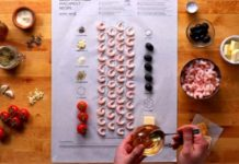 Cook this page, la carta da forno di Ikea con le istruzioni per cucinare