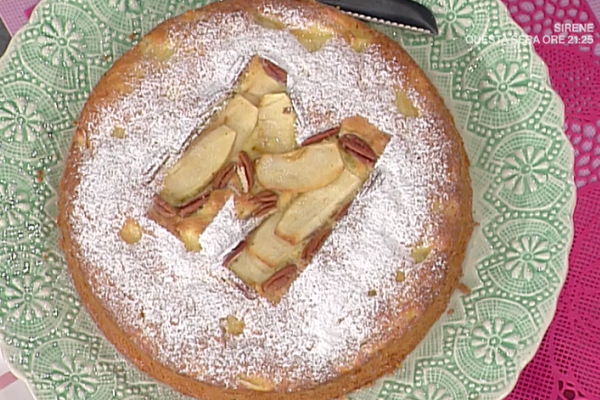 Ricette dolci La Prova del Cuoco: torna di mele di Anna Moroni