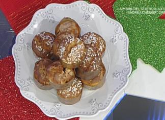 La Prova Del Cuoco ricette di Natale 2017: panettoncini di Anna Moroni