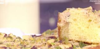Ricette dolci oggi La Prova del Cuoco: torta al limone di Natalia Cattelani